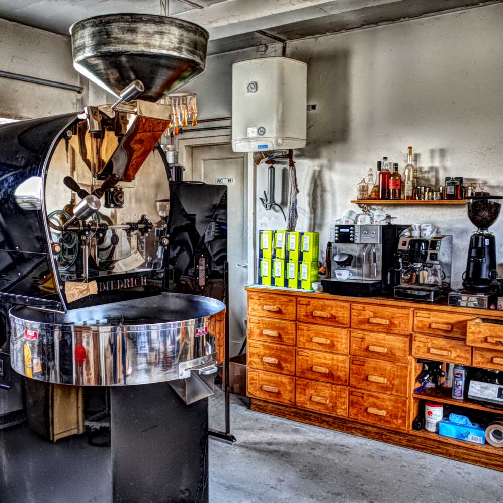 Caffè Barone - Kaffeerösterei in Gelterkinden